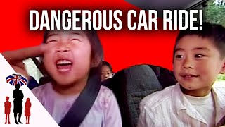 How NOT To Travel With Children In Cars | Supernanny