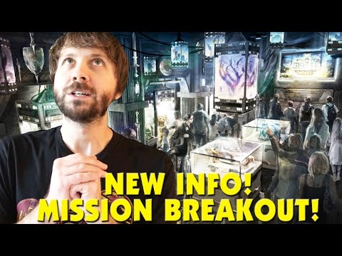 NEW INFO ON GUARDIANS OF THE GALAXY MISSION BREAKOUT! - This Week In Disney January 28, 2017