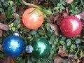 Easy Glitter Ornaments with Floor Wax  Glitter Balls