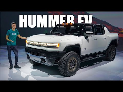 Hummer EV First Look! All The Details Of GMC's All-Electric Supertruck - Видео онлайн