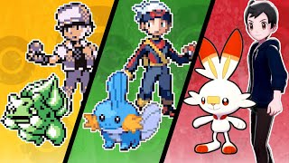Best Starter Pokemon to Pick in Every Game