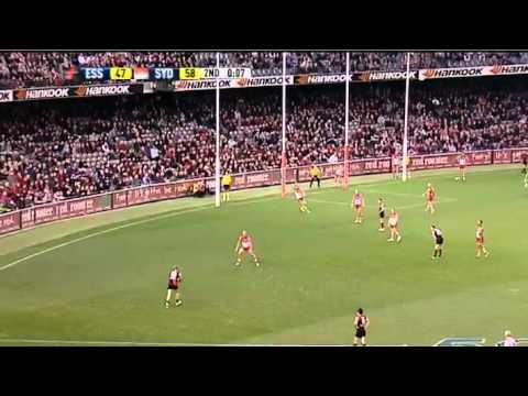 AFL 2011 Round 20 Highlights: Essendon V Sydney - YouTube