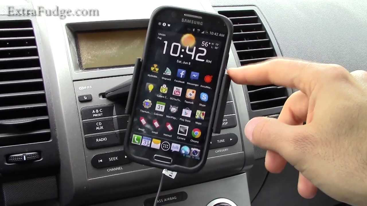 Caseology One Touch Cd Slot Universal Smartphone Car Mount