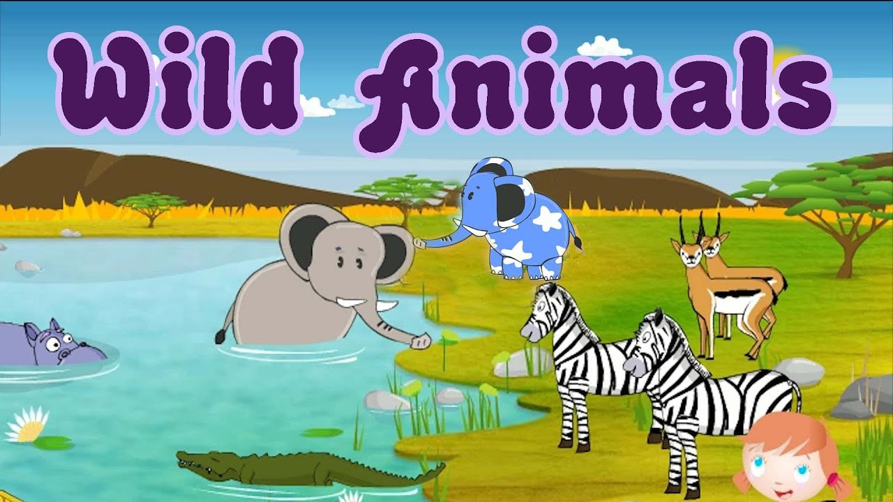 Learn About Wild Animals Animal Sounds Fun And Educational Videos For Kids