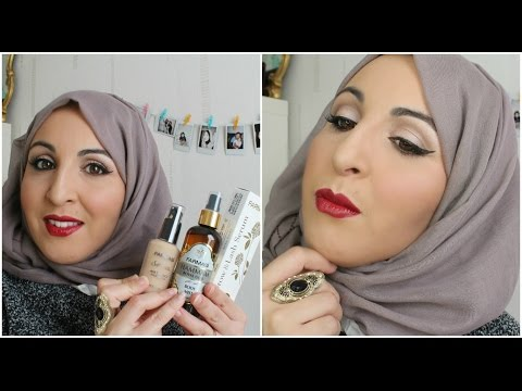 Make up glam  + concours HASNA COSMETICS