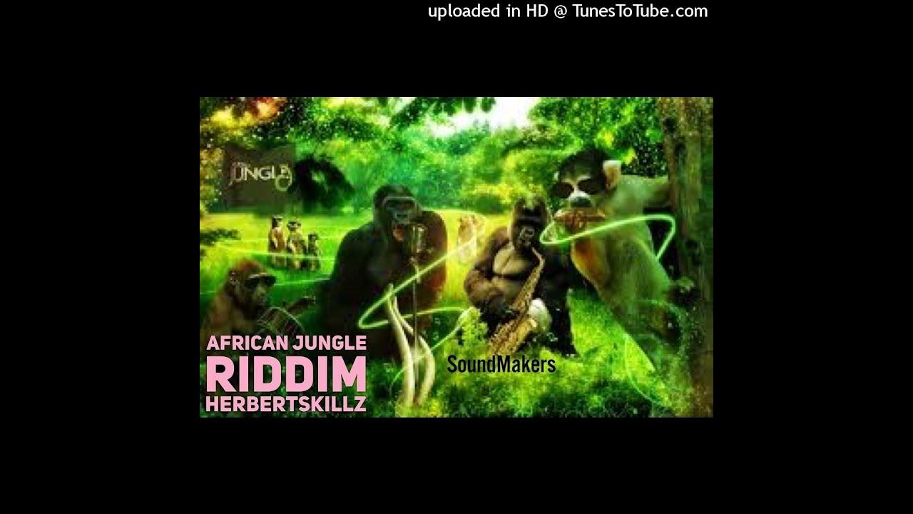 African Jungle Dancehall Riddim instrumental / Jungles in Africa