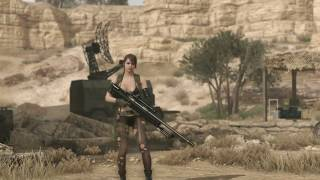 METAL GEAR SOLID V: THE PHANTOM PAIN Ending Quiet (ITA)