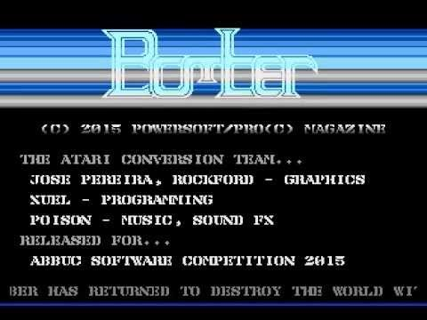 Bomber Atari 8bit to ABBUC Software Competition 2015