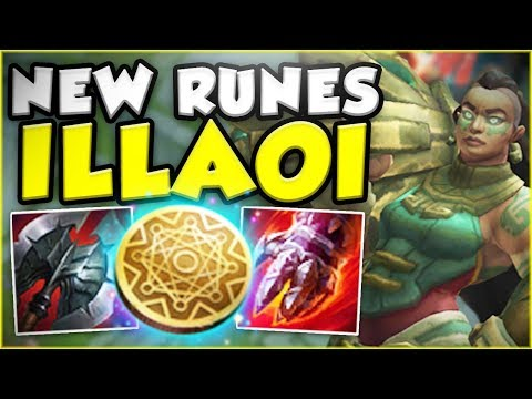 NEW MONEY MAKING ILLAOI IS ACTUALLY SO BROKEN! NEW ILLAOI SEASON 8 TOP GAMEPLAY! - League of Legends