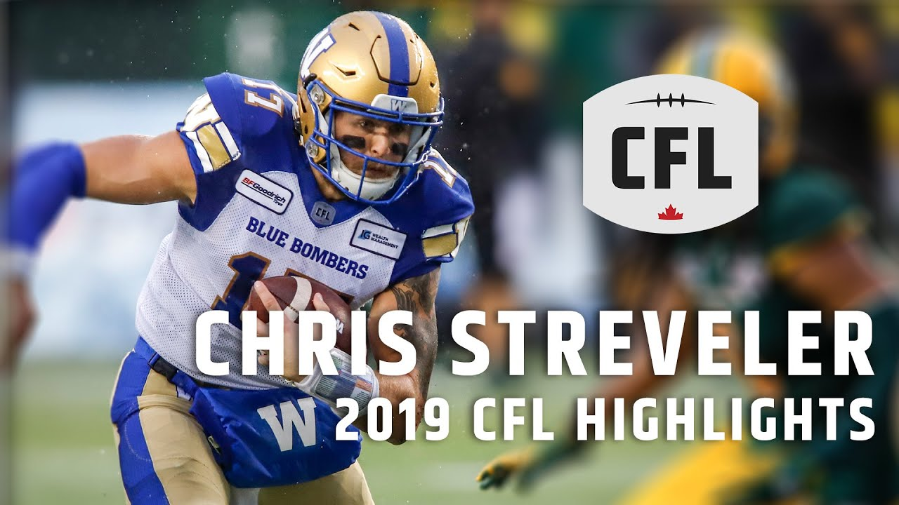 Chris Streveler 2019 CFL Highlights
