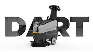 Dart gulvvasker 36B video