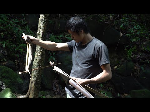 Hunting and cooking, survival in the tropical rainforest, ep 60