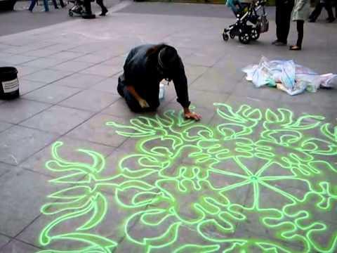 Joe Mangrum at Washington Square Park, New York