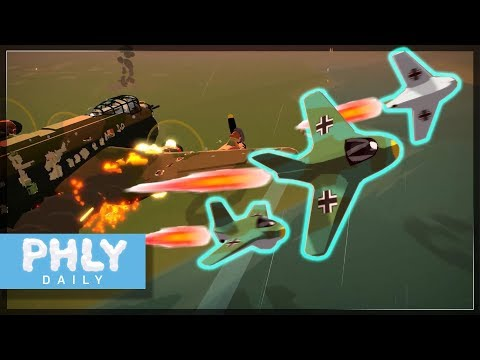 Me-163 Rocket Interceptor AMBUSH (Bomber Crew Gameplay)