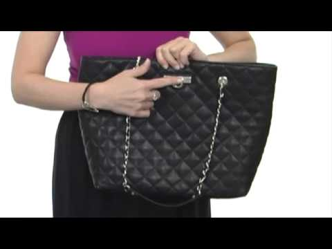 DKNY - Items Qquilted Nappa Ew Shopper  SKU:#8188839