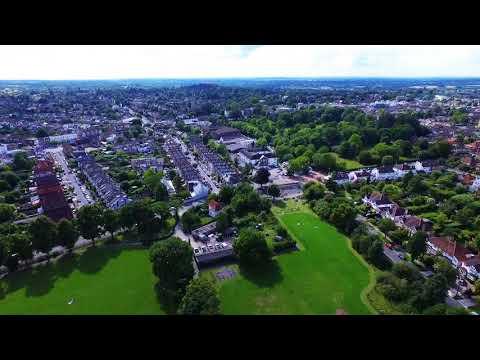 Above England: Surbiton and Richmond upon Thames