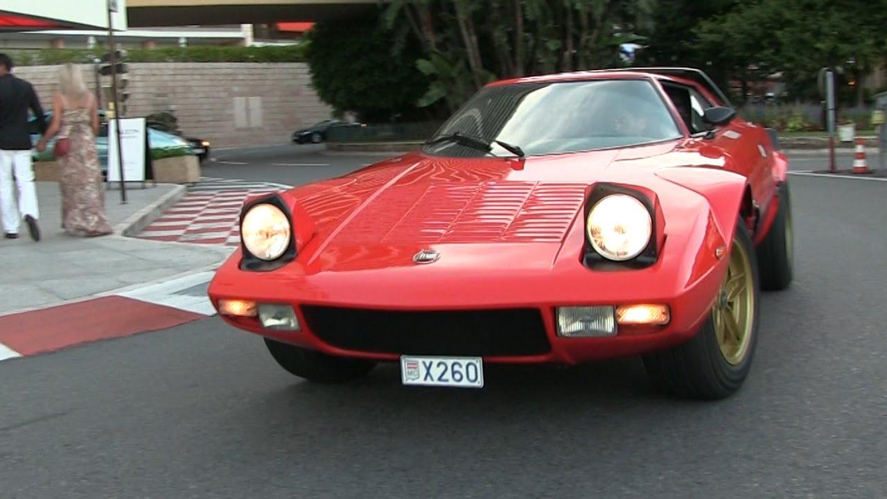 RARE 1973 Lancia Stratos HF driving in Monaco | Accelerations! - YouTube
