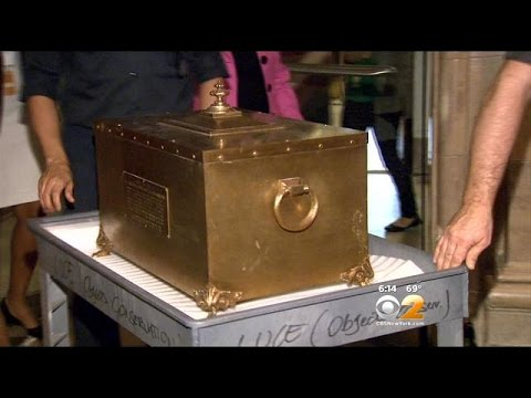 100-Year-Old Time Capsule Opened In NYC