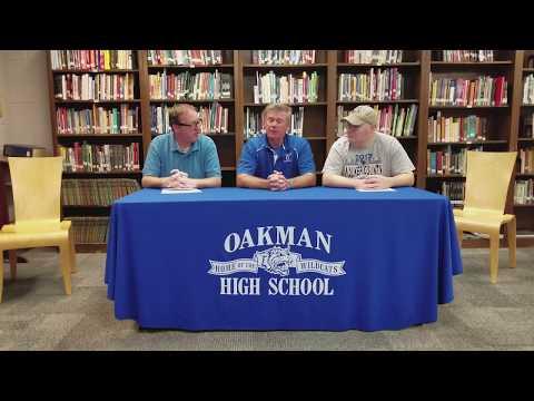Football Blitz week 6 Oakman High School