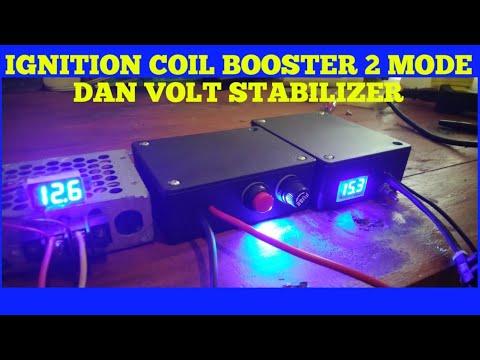Volt Stabilizer Dan Dual Ignition Coil Booster