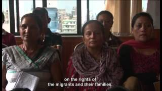 Empowerment of Women Migrant Workers in Nepal - English