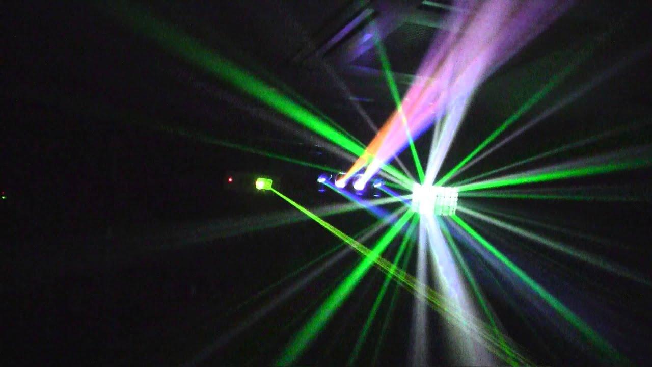 iluminacion discoteca