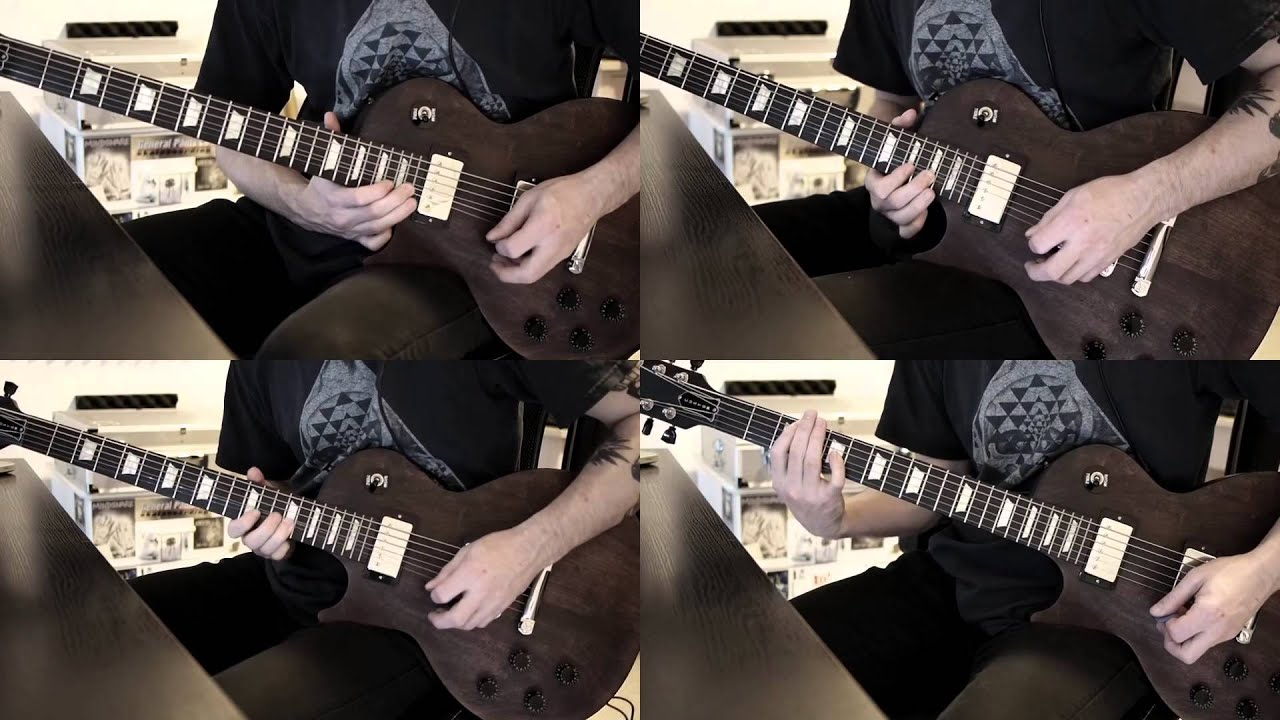Metallica Blackened Intro - (forwards and reversed) - YouTube