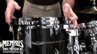 Tama STAR Bubinga Drum Set 22/10/12/14/16/14 - Dark Green Cordia Finish