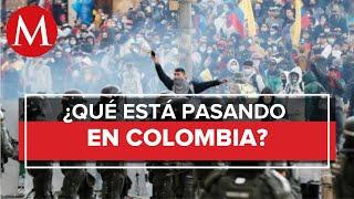 Colombia se llena de jóvenes lesionados y militares ¿Qué está pasando?