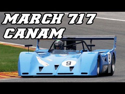 1971 March 717 Canam At Spa 2013 (very Loud Revving) 8,8L 800hp