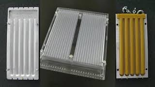 Алюминиевые формы для хозяйственных свечей.Плотности парафино стеариновая смеси