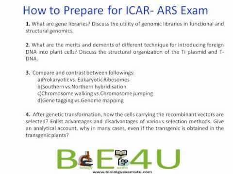How to prepare for ICAR - ARS - NET Exam