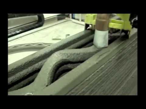 Строительство дома при помощи 3D принтера