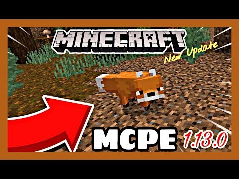 Minecraft PE 1.13.0 Latest Version [What's New]