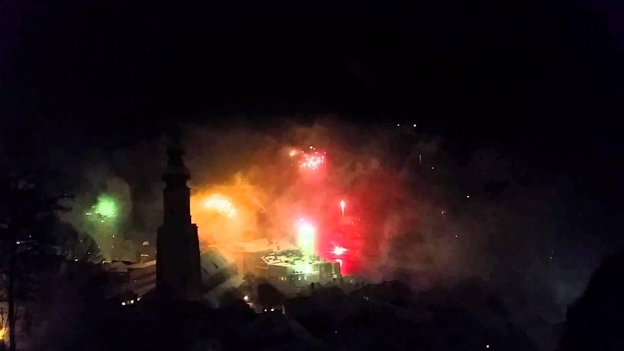 Silvester feuerwerk 2014 2015 ausblick von der burg in - Silvester youtube ...