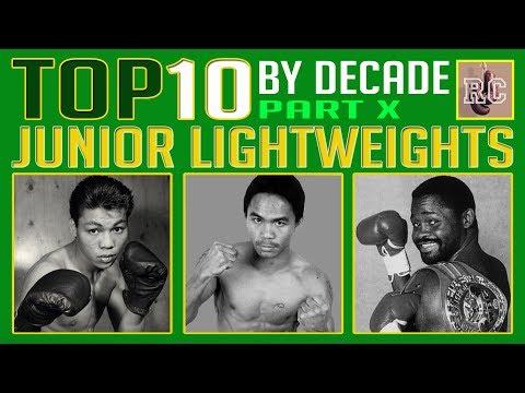 Top 10 Junior Lightweights by Decade