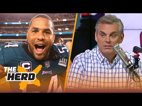 Colin Cowherd reacts to the Eagles beating the Falcons in Week 1   NFL   THE HERD
