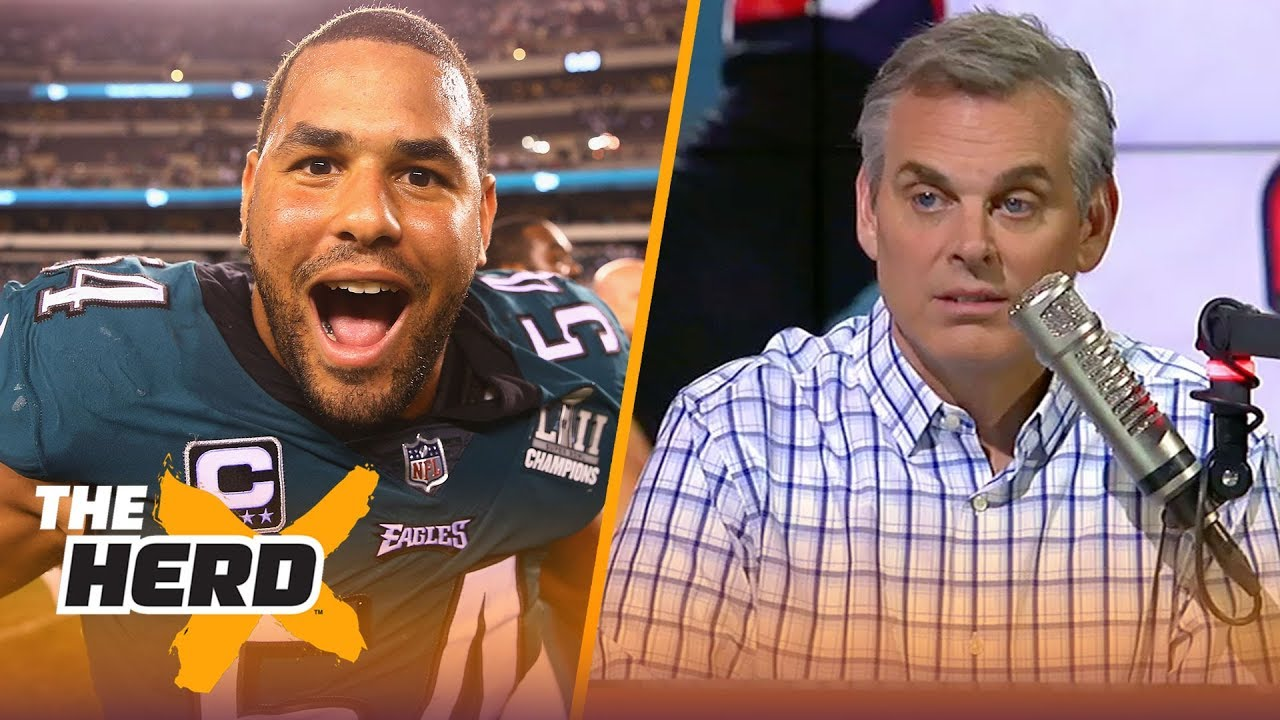Colin Cowherd reacts to the Eagles beating the Falcons in Week 1 | NFL | THE HERD