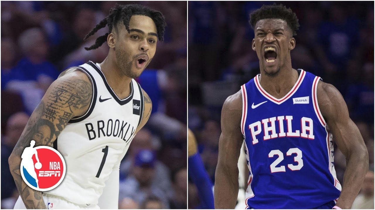 Jimmy Butler's playoff career-high 36 not enough in Sixers' Game 1 loss vs. Nets | NBA Highlights