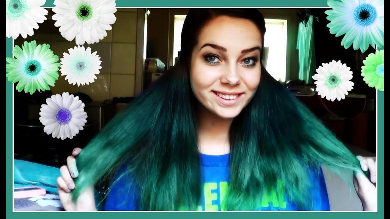 Haar Blauw  Turqoise Verven + Kletsen   YouTube