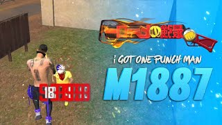 I GOT NEW M1887 ONE PUNCH MAN SKIN IN NEW EVENT FREE FIRE para SAMSUNG,A3,A5,A6,A7,J2,J5,J7,S5,S6 FF