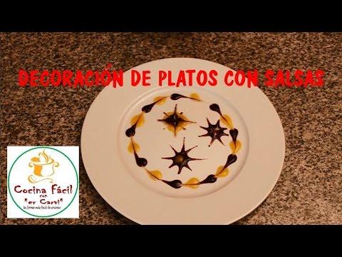 Decoraci n de platos con salsas youtube - Decoracion de platos ...