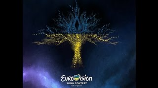 Eurovision 2017 Logo - Flags (All 43 countries) New desing