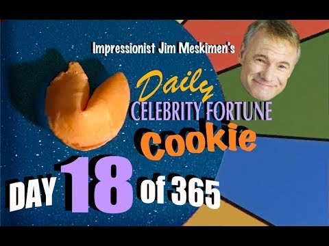 Your Daily Fortune! In Celebrity Voices by Impressionist Jim Meskimen | #18