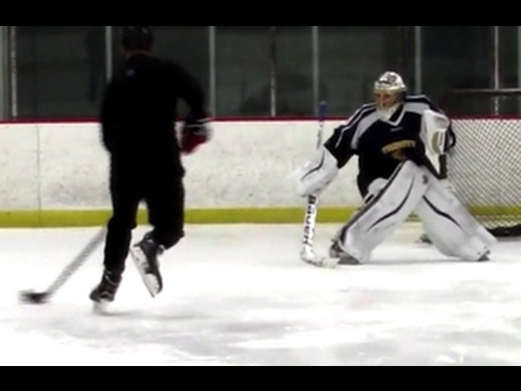 Hockey Goalie Drill Breakaway Y Skating Drill Youtube