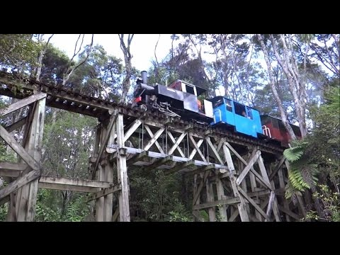 Whangaparoa Narrow Gauge Railway (HD)
