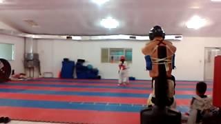 Tae kwon do. Jhonnatan ali