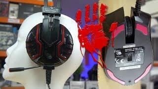 Bloody  M615 oraz Q50 czyli słuchawki i myszka dla gracza w dobrej cenie - TEST - VBT