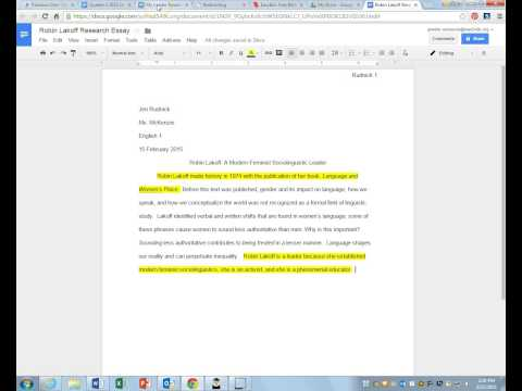 Leader Essay Introduction and Works Cited