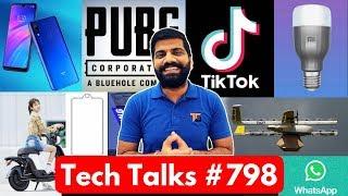 "Tech Talks #798 - TikTok No Ban, PUBG Profit, Redmi Y3, OnePlus 7 ""The Lab"", Mi LED Bulb, Pixel 3a"